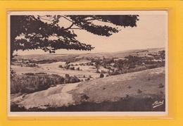 BURGEAT -19- Plateau Des Millevaches - Panorama Vu Du Sommet Du Rocher Du Rat  - Ref A 7255-56 - Autres Communes