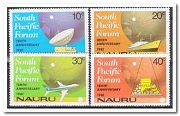 Nauru 1981, Postfris MNH, South Pacific Forum - Nauru