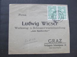 BRIEF Reichenberg - Graz 1910 /// D*34078 - Briefe U. Dokumente