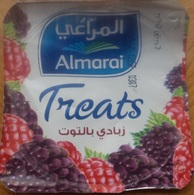 Egypt - Couvercle De Yoghurt Almarai Treats (foil) (Egypte) (Egitto) (Ägypten) (Egipto) (Egypten) Africa - Opercules De Lait