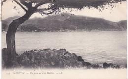 06 Alpes Maritimes - MENTON -  Vue Prise Du Cap Martin - Dos Simple 1904 - Menton