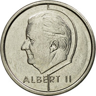 Monnaie, Belgique, Albert II, Franc, 1997, Bruxelles, TTB+, Nickel Plated Iron - 02. 1 Franc