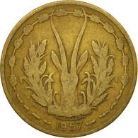 Monnaie, French West Africa, 25 Francs, 1957, Paris, B, Aluminum-Bronze, KM:9 - Togo