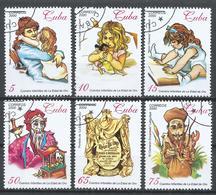 Cuba 2000. Scott #4088-93 (U) La Edad De Oro, By José Marti * Complet Set - Cuba