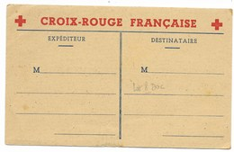 8 Documents Croix-Rouge 1943/1944 - AOF DAKAR, MAROC... - Marcophilie (Lettres)