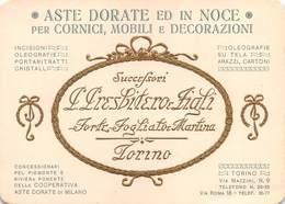 """0359 """"TORINO - L. PRESBITERO & FIGLI - ASTE DORATE ED IN NOCE PER CORNICI, MOBILI E DECORAZIONI"""" PUBBL. ORIG. IN RILIEVO - Other"""
