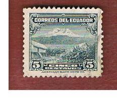 ECUADOR  - SG  495a -  1934 MOUNT CHIMBORAZO                                                  - USED - Ecuador