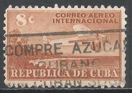 Cuba 1948. Scott #C40 (U) Airplane * - Poste Aérienne