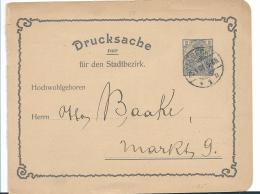 RP003 / / DEUTSCHES REICH -  FirmenWerbe-Ganzsache (Textilien)  Lübeck , Zum Ortstarif Von 2 Pfg.,1908 - Allemagne