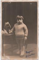 LA BROQUE-SCHIRMECK (67) PHOTO. ENFANT. ROGER ANSELM. PHOTOGRAPHE REBIFFE. - Persone Identificate