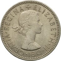 Monnaie, Grande-Bretagne, Elizabeth II, Shilling, 1966, TTB+, Copper-nickel - 1902-1971 : Monnaies Post-Victoriennes