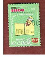 ECUADOR  - SG  2096  -    1990  POPULATION CENSUS              - USED - Ecuador