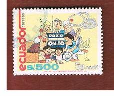 ECUADOR  - SG  2117  -    1991  RADIO QUITO             - USED - Ecuador