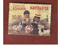 ECUADOR  -   MI 3116  -    2008  CHRISTMAS          - USED - Ecuador