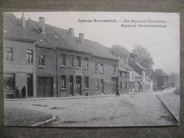 Cpa Wezembeek-Oppem Ophem-Wesembeek (Bruxelles) - Rue Raymond Hernalsteen - Estaminet Salle Madelon Café - Wezembeek-Oppem