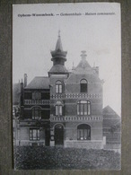 Cpa Wezembeek-Oppem Ophem-Wesembeek (Bruxelles) - Maison Communale - Gemeentehuis - Wezembeek-Oppem