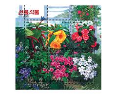1999 North Korea Stamps Flowers  MS - Korea, North