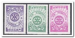Zuid Korea 1955, Plakker MH, 50 Years Rotary International ( With Slight Fold ) - Korea (Zuid)