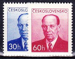 ** Tchécoslovaquie 1953 Mi 814-5 (Yv 716-7), (MNH) - Unused Stamps