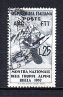 ITALIA TRIESTE 1952 CANCELLED - Used