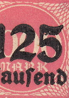 Abart Auf Dem Nummer Infla 291 : Fünf Vezes Das Selbe Satzfehler An Dem 5 ! - Unused Stamps
