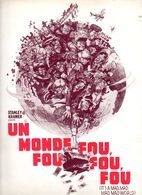 Dossier De Presse Cinéma. Un Monde Fou,fou,fou. Film De Stanley Kramer. Spencer Tracy, Milton Berne. 1963. - Cinema Advertisement