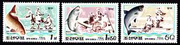 1999 North Korea Stamps Animal Fish 3v - Korea, North