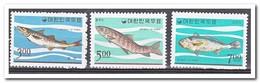 Zuid Korea 1966, Postfris MNH, Fish - Korea (Zuid)