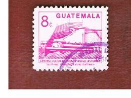 GUATEMALA   - SG 1293 - 1987 M.A. ASTURIAS CULTURAL CENTRE  - USED - Guatemala