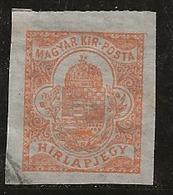 Hongrie 1913 N°Y.T. :  JO. 8 (fil.D) Obl. - Zeitungsmarken