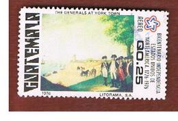 GUATEMALA   - SG 1037 - 1978   AMERICAN REVOLUTION BICENTENARY          - USED - Guatemala