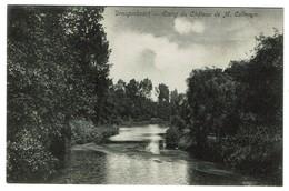 Drogenbos / Drogenbosch - Etang Du Château De M. Calmeyn Edit. F. De Clerck - 2 Scans - Drogenbos