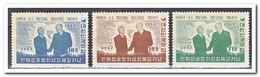 Zuid Korea 1954, Plakker MH, Contract With The USA ( Not In Nice Condition ) - Korea (Zuid)