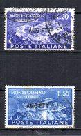 ITALIA TRIESTE 1951 CANCELLED - 7. Trieste