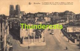 CPA  BRUXELLES LA COLLEGIALE DES S S MICHEL ET GUDULE TRAM - Public Transport (surface)