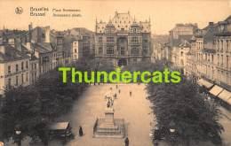 CPA  BRUXELLES PLACE ANNEESSENS PLAATS - Places, Squares