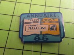 1018A Pin's Pins / Rare Et De Belle Qualité / THEME FRANCE TELECOM ANNUAIRE TELEPHONIQUE 85 VENDEE - France Telecom