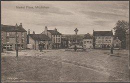 Market Place, Middleham, Yorkshire, C.1910s - Postcard - England