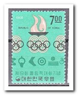 Zuid Korea 1968, Postfris MNH, Olympic Flame - Korea (Zuid)
