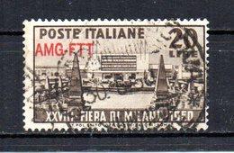ITALIA TRIESTE 1949 CANCELLED - 7. Trieste