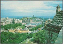 View From Edinburgh Castle, Midlothian, C.1960s - Braemar Films Postcard - Midlothian/ Edinburgh