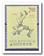 Zuid Korea 1968, Postfris MNH, Wrestling - Korea (Zuid)
