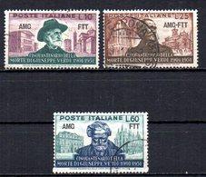 ITALIA TRIESTE 1951 CANCELLED - 7. Triest