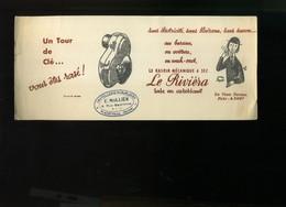 BUVARD   PEYNET ILLUSTRATEUR - Publicidad