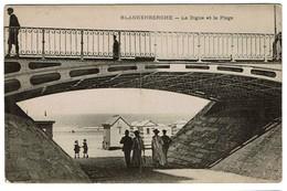 Blankenberghe - La Digue Et La Plage - 2 Scans - Blankenberge