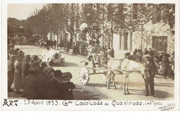 84 APT  Lot De Trois Cartes Photo De La Grande Cavalcade De Quasimodo 1933 - Apt