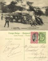 Belgian Congo, ELISABETHVILLE, First Means Of Transport (1920s) Postcard (22) - Congo Belge - Autres