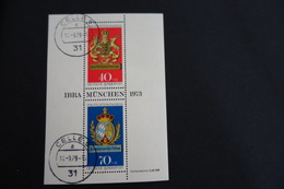 Bundesrepubliek Michel 767 Block 9 1973 - [7] West-Duitsland