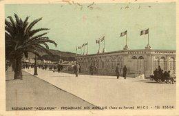 NICE - Restaurant Aquarium Promenade Des Anglais Face Au Forum - Nizza