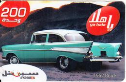 SYRIA - Car, 1962 Buick, SyriaTel Prepaid Card 400 SP, Exp.date 31/12/09, Used - Syria
